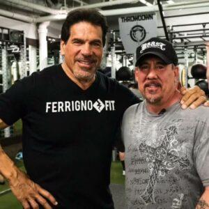 Lou Ferrigno & Dave