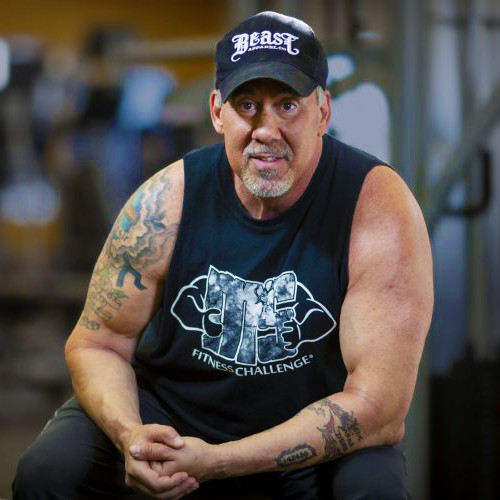 David Lyons Bodybuilder Fitness Expert Working Out