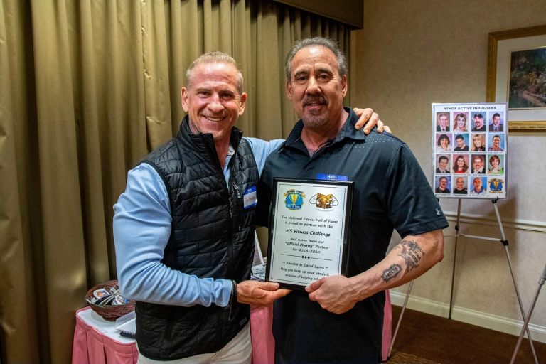 David Lyons special recognition award national fitness hall of fame 2017